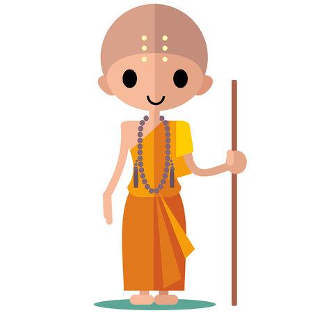 buddhist: buddhist monk