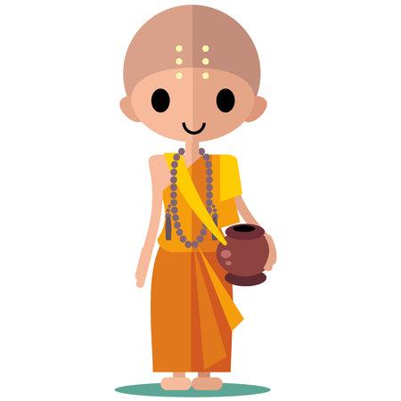 buddist: buddhist monk