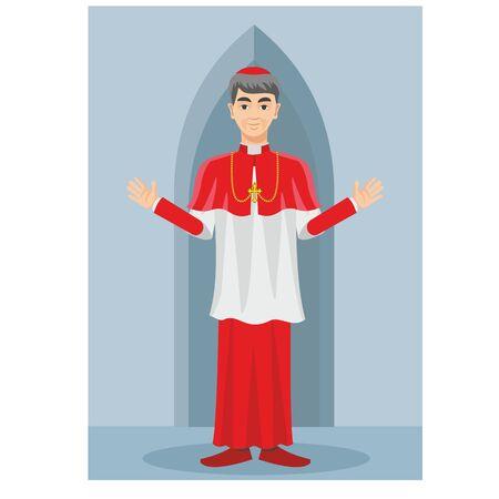 sotana: sacerdote cat�lico en una sotana