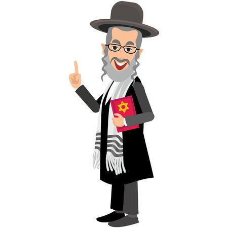 Juif avec torah Banque d'images - 65863312