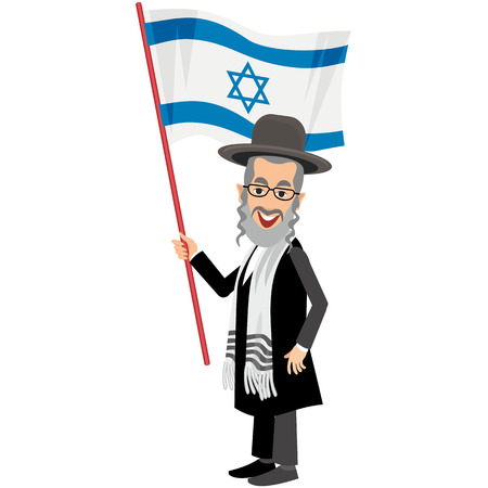 mishnah: orthodox jew, hassid, rabbi, with Payot and Kippah