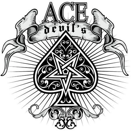 ace of spades 矢量图像