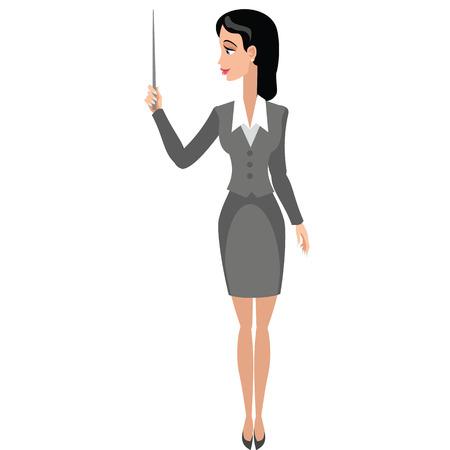 business woman Иллюстрация