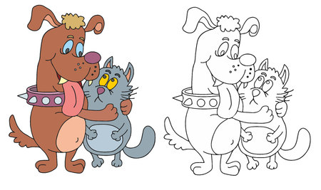 coloring pages for children 일러스트