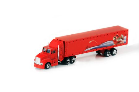 red truck Stock Photo - 8595182