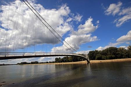 modern bridge in croatia