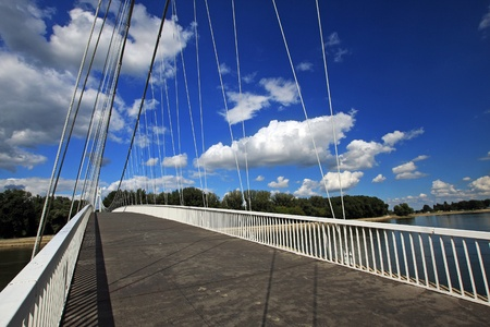 modern bridge in croatia Stock Photo - 8610527