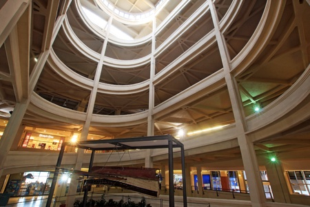 Lingotto, Italia, 18 gennaio 2011; inudstrial edificio ristrutturato da Renzo Piano