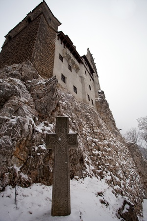 Dracula Castle in Transylvania, Romania Editorial