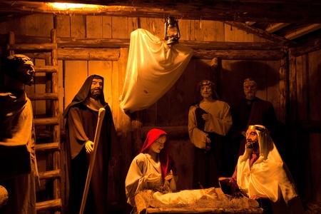 nativity scene in Romania