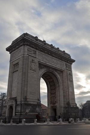 Arco di Trionfo, Bucarest