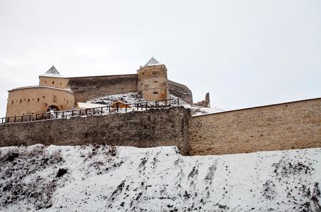 fortification: Rasnov fortification in Transylvania, Romania Editorial