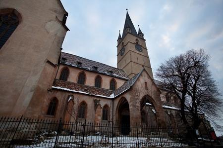 antica cattedrale di Sighisoara, Romania