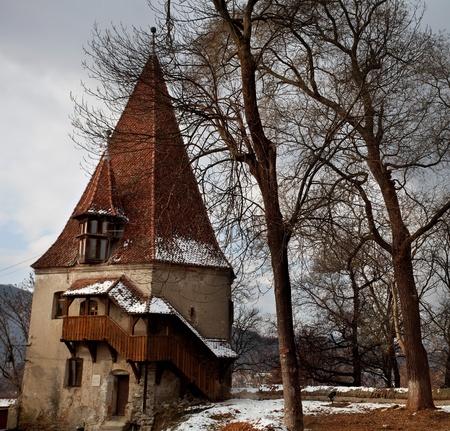 ancient citadel of Sighisoara, Transylvania
