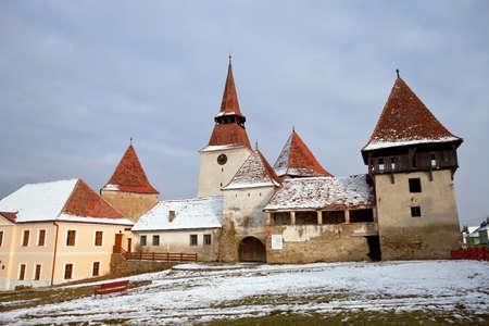 penury: Ancient monastery near Sighisoara, Romania