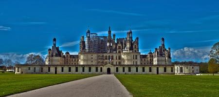 chambord: castle of Chambord, France