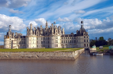 castle of Chambord, France