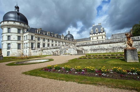 castle of Valencay, France