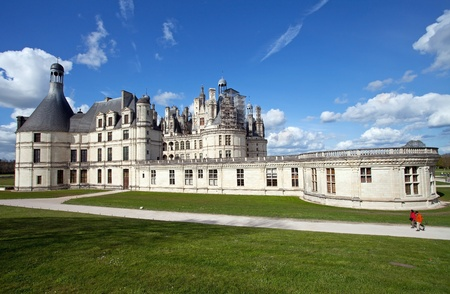 castle of Chambord, France Stock Photo - 13795887
