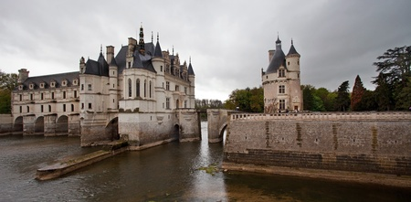 chateau: Castle of Chenonceaux, France  Editorial