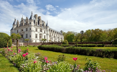 Castle of Chenonceaux, France  Editorial