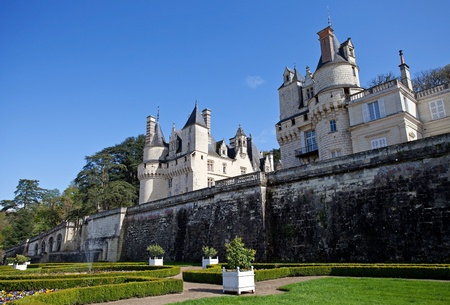 usse: Castle of Uss�, France  Editorial