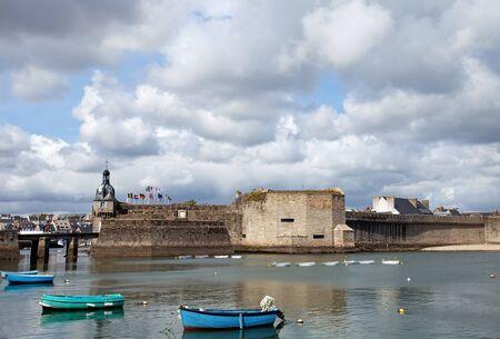 Porto di Concarneau, Francia