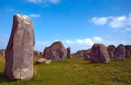Carnac stones, France