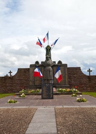 medioeval: monument in Bedee, France  Editorial
