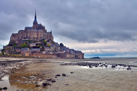 Mont Saint Michel, France  photo