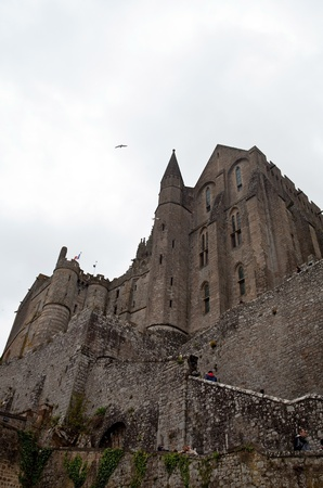michel: Mont Saint Michel, France  Stock Photo