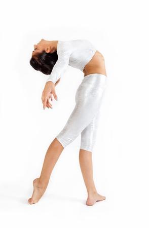 modern dancer in white background Stock Photo - 15615903