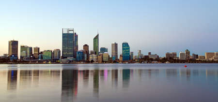 perth: perth s skyline Stock Photo