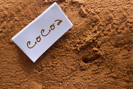 cocoa on sale photo