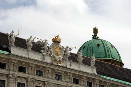 Domes and roofs of the Austrian capital - cities of Vienna
