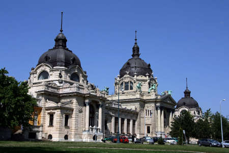 holidays vacancy: The Szechenyi Medicinal Bath at Hungary Budapest