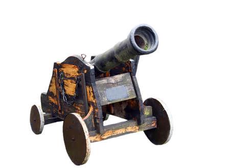 Old gun isolated on white background Stock Photo - 10314442