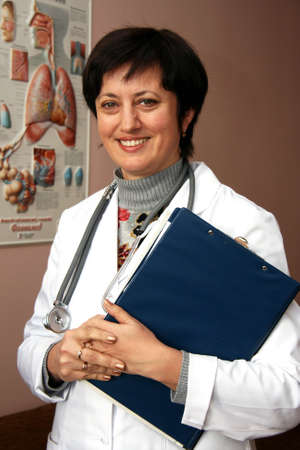 Doctor smiling Stock Photo - 11030260