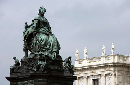 empress: Statue of the Austrian Empress Maria Theresia Vienna