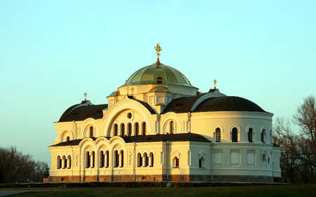St. Nicholas Church in Memorial complex Brest Hero Fortress in Belarus