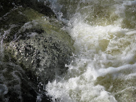 rushing water: Mountain River, Rushing Water Flowing Texture