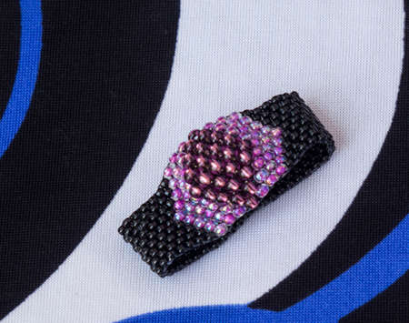 made: Ring made from beads