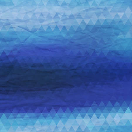 Abstract geometric background. Triangle pattern. Illustration