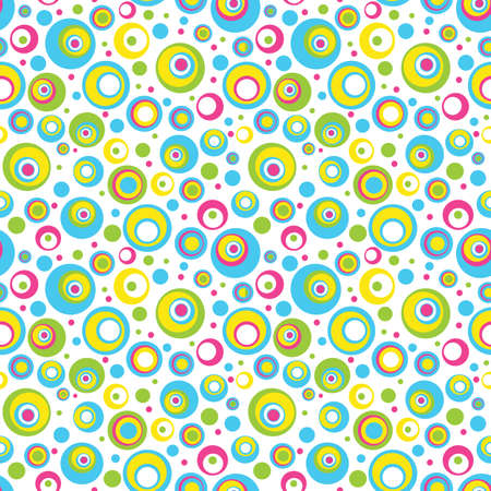 polka dots: Abstract seamless pattern.