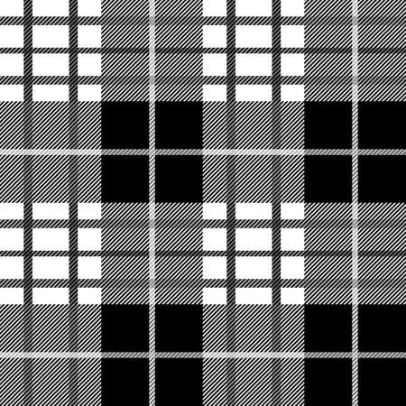タータンのシームレスなパターン。  イラスト・ベクター素材