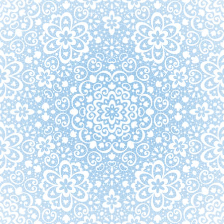Ornamental seamless lace pattern on grunge background   Vector