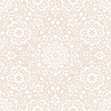 Ornamental seamless lace pattern Illustration