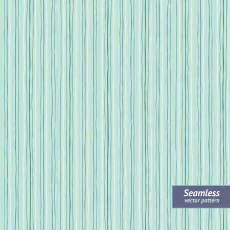 Striped background  Seamless pattern with hand-drawn strips  Vector illustration  Illustration