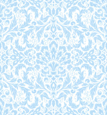 Ornamental seamless lace pattern Illustration