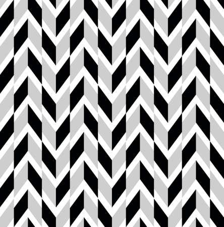 A set of seamless retro patterns. Illustration